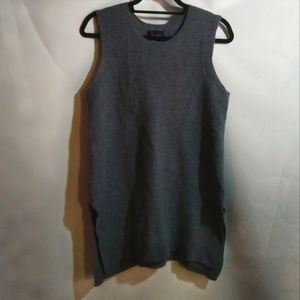 Cynthia Rowley - Grey 100% Merino Wool Vest